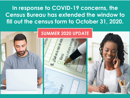 Census Extended Until October 31st
