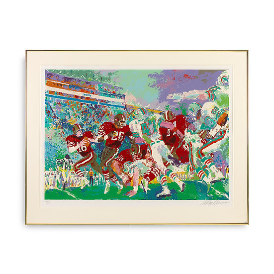 """Post-Season Football Classic"" by LeRoy Neiman"