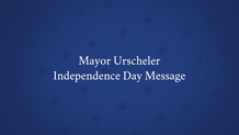 Independence Day Message