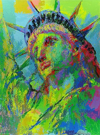 """Portrait of Liberty"" by LeRoy Neiman"