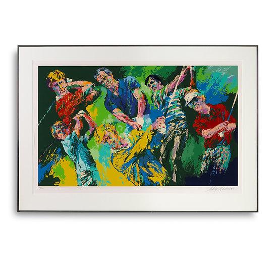 """""""Golf Winners"""" by LeRoy Neiman"""
