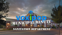 Municipal Minute: Sanitation Department