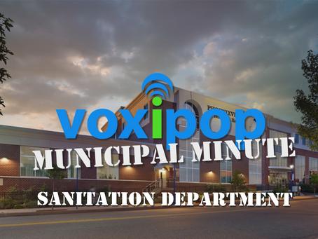 Municipal Minute: Sanitation Department