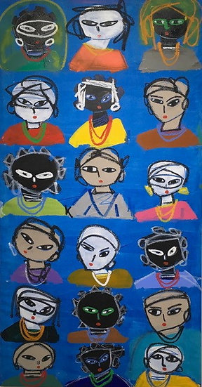 """""""People in Blue"""" by Rascal"""