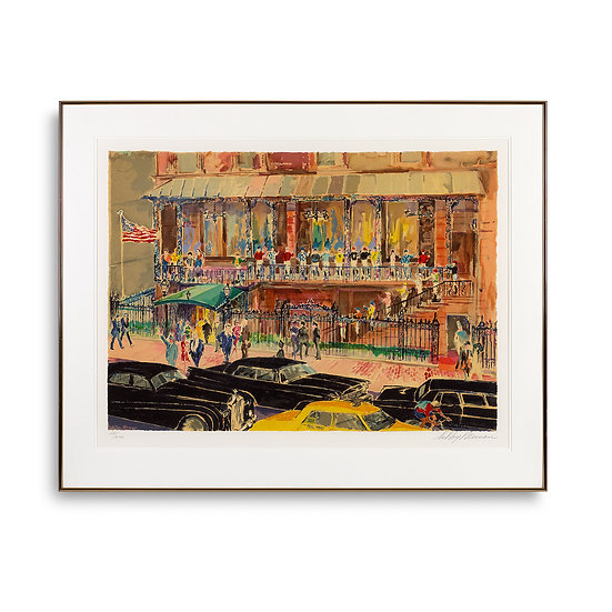 """21 Club"" by LeRoy Neiman"
