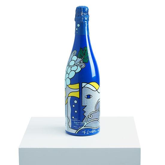 """""""Champagne Taittinger Bru Bottle"""" Roy Lichtenstein"""