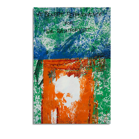 """Grateful Dead Rainforest Tribute"" by Robert Rauschenberg"