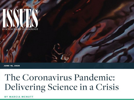 Actionable science in the age of coronavirus