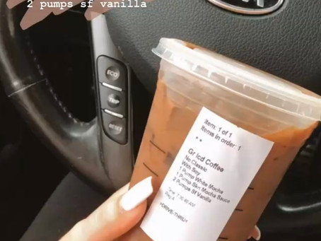 My Top 3 Starbucks Drinks That Don't Wreck Your Fitness Goals