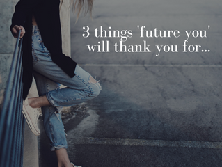 Smart.Happy.Money 18:                                3 things your future self will thank you for.