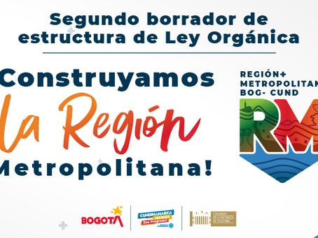 Comunicado: Segundo borrador de estructura de la Ley Orgánica que regulará la Región Metropolitana