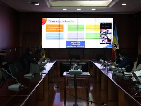 Municipios de Sabana Occidente dialogan sobre ventajas de la Región Metropolitana