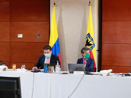 Bogotá, Cundinamarca y Cámara aportan a la reglamentación de la Región Metropolitana