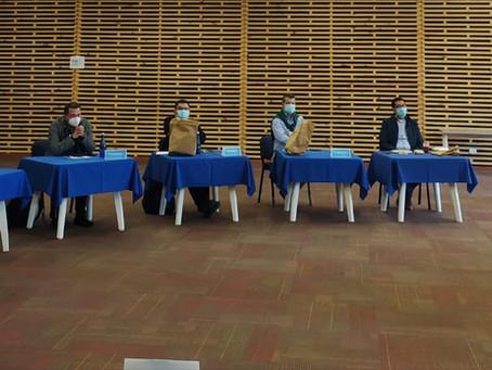 Alcaldes de Sabana Centro conocen beneficios de la Región Metropolitana
