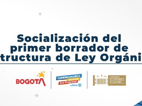 La socialización del primer borrador de la estructura de la Ley Orgánica será el 22 de octubre