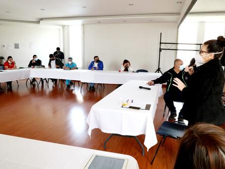 Chía lidera estrategia provincial de socialización para la Región Metropolitana