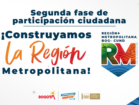 Continúa la construcción de la Región Metropolitana Bogotá-Cundinamarca