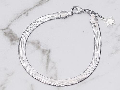 HB Bracelet - Rhodium
