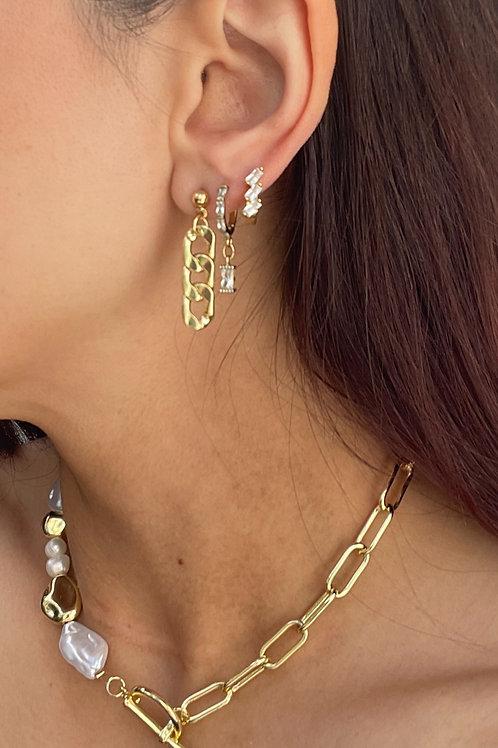 Mini Chain Earring