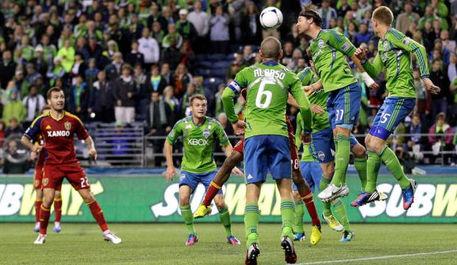 西雅圖足球隊觀賽