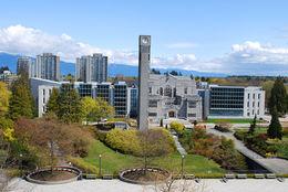 University of British Columbia (英屬哥倫比亞大學)