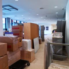 Stěhování kancelářského nábytku