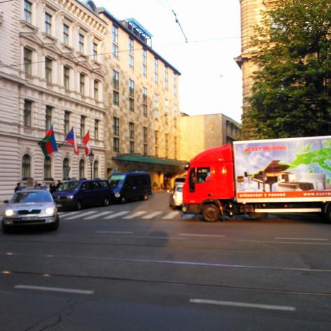 Stěhování hotelu