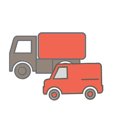 Stěhování XL - vůz a stěhováci