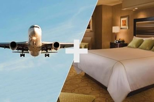 Research Fee for Flight &Hotel: Booking For  10 +Travel