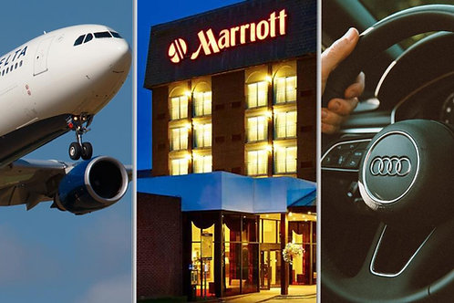 Research Fee for Flight,Hotel &Car: Booking For  10 Travel