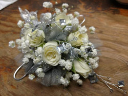 White Sweetheart Corsage
