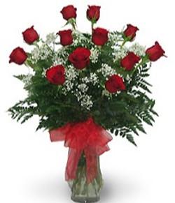 Dozen Rose Vase