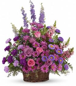 Purples Basket