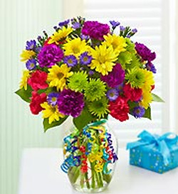 Bold Mixed Vase