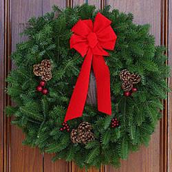 Fresh Balsam Wreath
