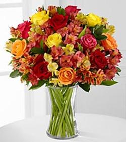 Mixed Fall Vase