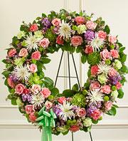Pastel Wreath