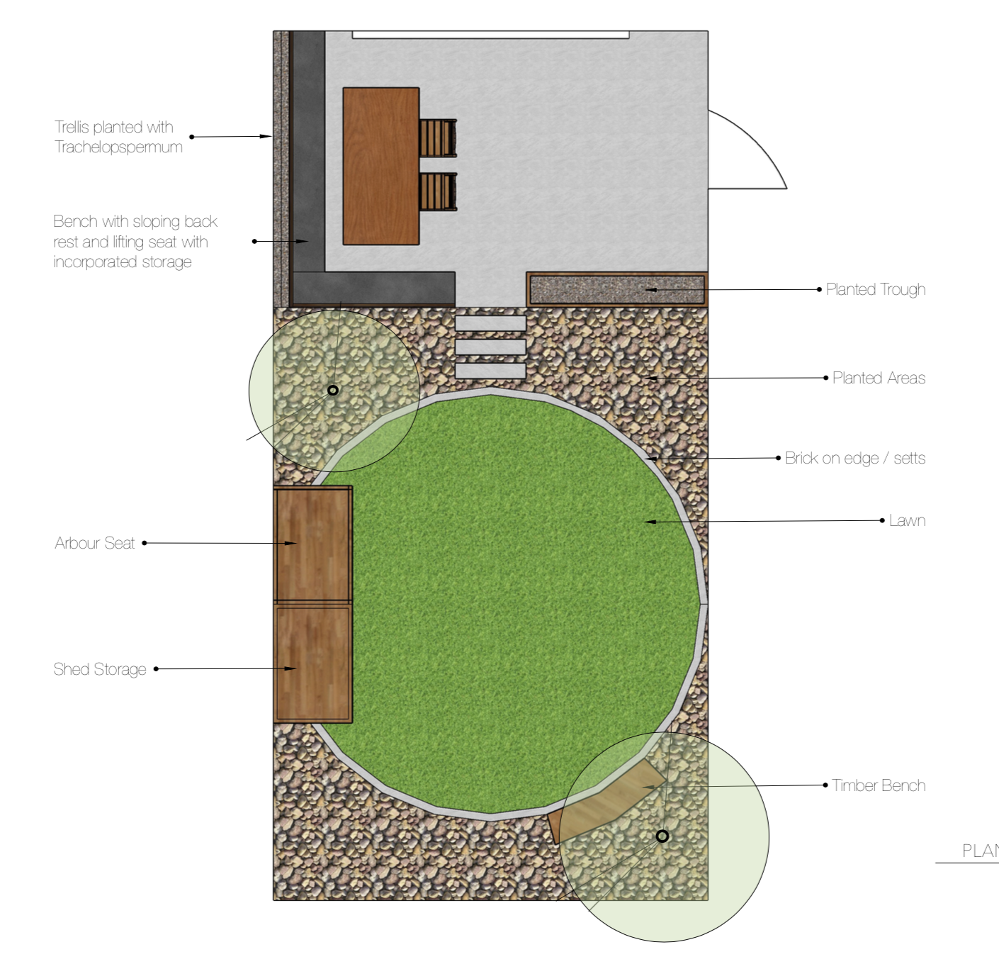 Earlsfield Garden Design Plan