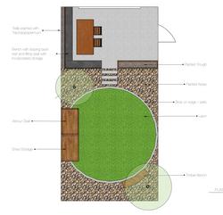 Earlsfield Garden Design Plan
