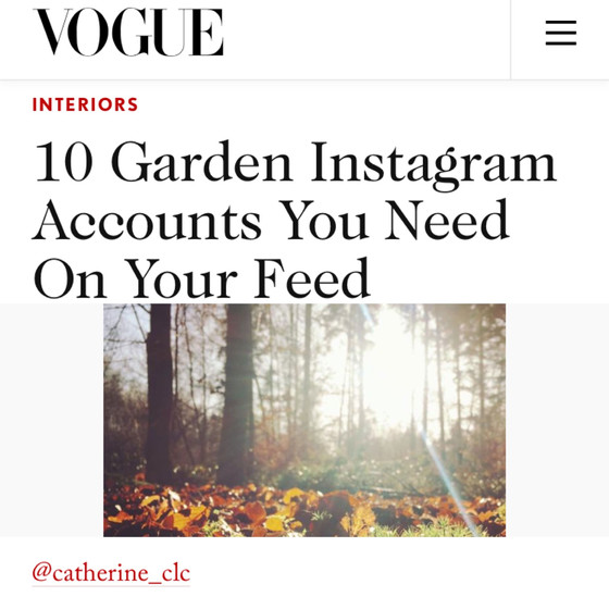Feature on Vogue.co.uk