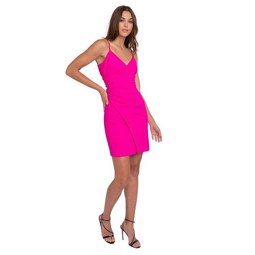 Esthero Dress, Vibrant Pink, by Black Halo