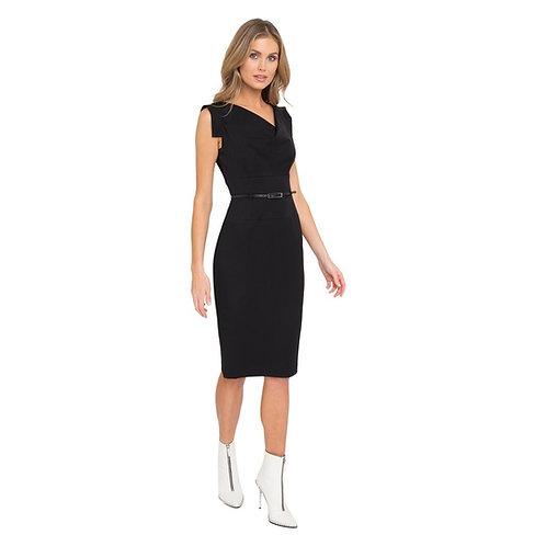 Jackie O Dress, Black, by Black Halo
