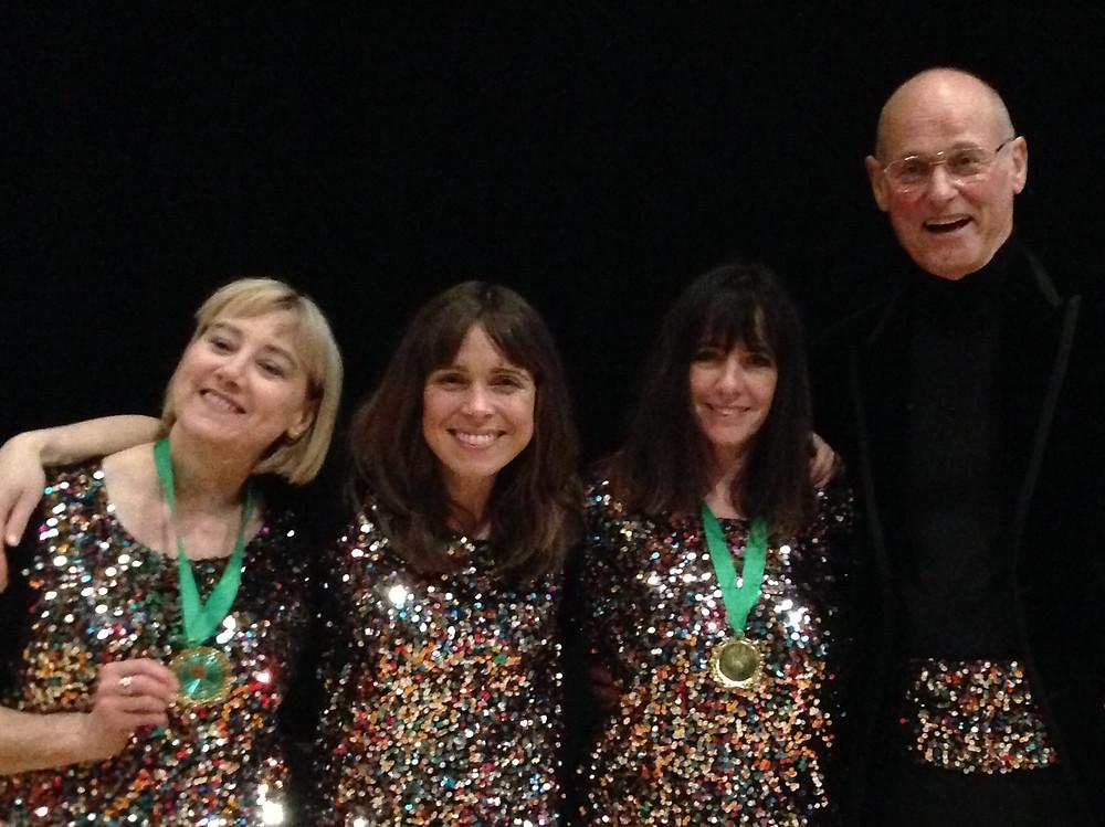 BS4 from Black Sheep Harmony. Sue, Mary, David and Noey