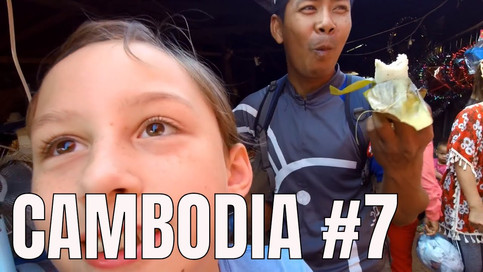 CLICK TO WATCH: Family Vacation in Cambodia 😋 Local Food Market Trip (2018)