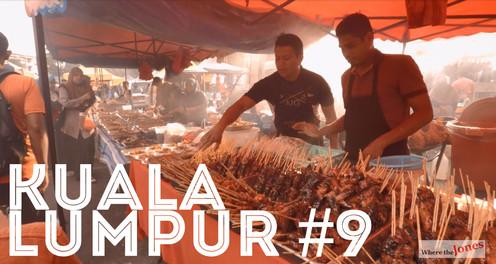 Click to watch: Kuala Lumpur 😋 Monday Night Food Market. Lots of Goodies 🍲🥘🌯