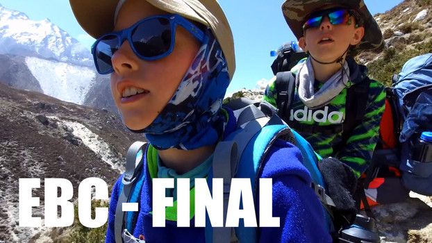 CLICK TO WATCH: 🏔️ THE WAY BACK 🏞️/// Everest Base Camp Trek w/Kids (2018)