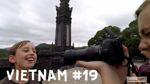 CLICK HERE TO WATCH: Hue, Vietnam Eating Local Goodies & Visiting Emperor's Tombs (2018)