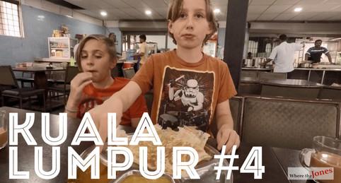 Click to watch: KUALA LUMPUR 😍 EATING UP THAT ROTI CANAI