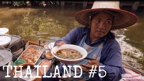 Click to watch: BANGKOK TRAVEL 🍜 Boat Noodles & The Unseen Klong (2018)