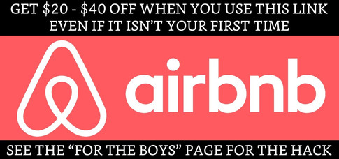 Click here when booking your next Airbnb!
